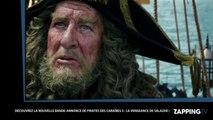 Johnny Depp et Orlando Bloo : Enfin leurs premières images dans Pirates des Caraïbes 5 (Vidéo)
