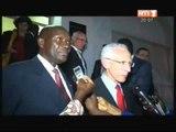 Une délégation d'hommes d'affaires israeliens a echangé avec le 1er Ministre Ahoussou Jeannot