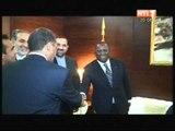 Le premier Ministre Jeannot Kouadio Ahoussou a reçu le Ministre Iranien des Sports