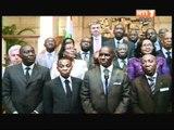 Le Président Alassane Ouattara a échangé avec M Makhtar Diop et le Patronat ivoirien
