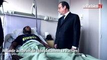 EXCLUSIF. Hollande au chevet de Théo à l'hôpital d'Aulnay-sous-Bois