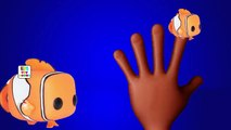 Finding Nemo Kids Toy Finger Family Song | Nemo Fish Finger Family Cartoon Animation Nursery Rhymes
