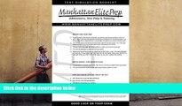 BEST PDF  Manhattan Elite Prep Erasable GMAT Booklet with Pen (Manhattan Review) Manhattan Elite