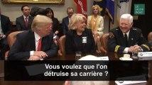 """Donald Trump : """"Vous voulez me donner son nom? Pour qu'on détruise sa carrière?"""""""