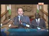 Le Président Alassane OUATTARA, a reçu une délégation du MEDEF et le patron de l'ONUCI