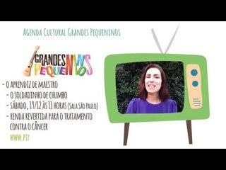 Agenda Cultural SP Final de Semana 19/12/15 - Soldadinho de Chumbo