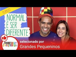 Normal é Ser Diferente - Playlist Especial no YouTube Kids!