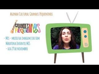 Agenda Cultural SP Final de Semana 28/11/15 - Maratona Infantil MIS