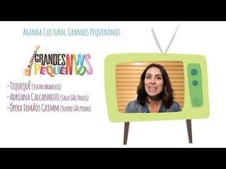 """Agenda Cultural SP  """"Dia das Crianças"""" - Grandes Pequeninos/Ping Pong Kids"""