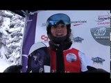 Finals Brenna Huckaby  v Cecile Hernandez-Cervellon | 2017 World Para Snowboard Championships