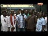 Adjamé : Les commerçants en colère manifestent devant la mairie