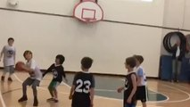 Zaza Pachulia's Son Shoots Steph Curry Inspired Half-Court Shot (After LeBron James Inspired Travel)