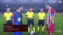 """ملخص مباراة """" برشلونة 1 - 1 أتلتيكو مدريد """" كأس ملك إسبانيا"""