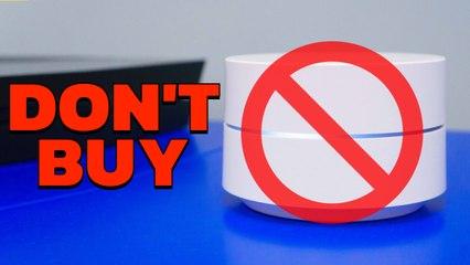 Don't Buy Google Wifi