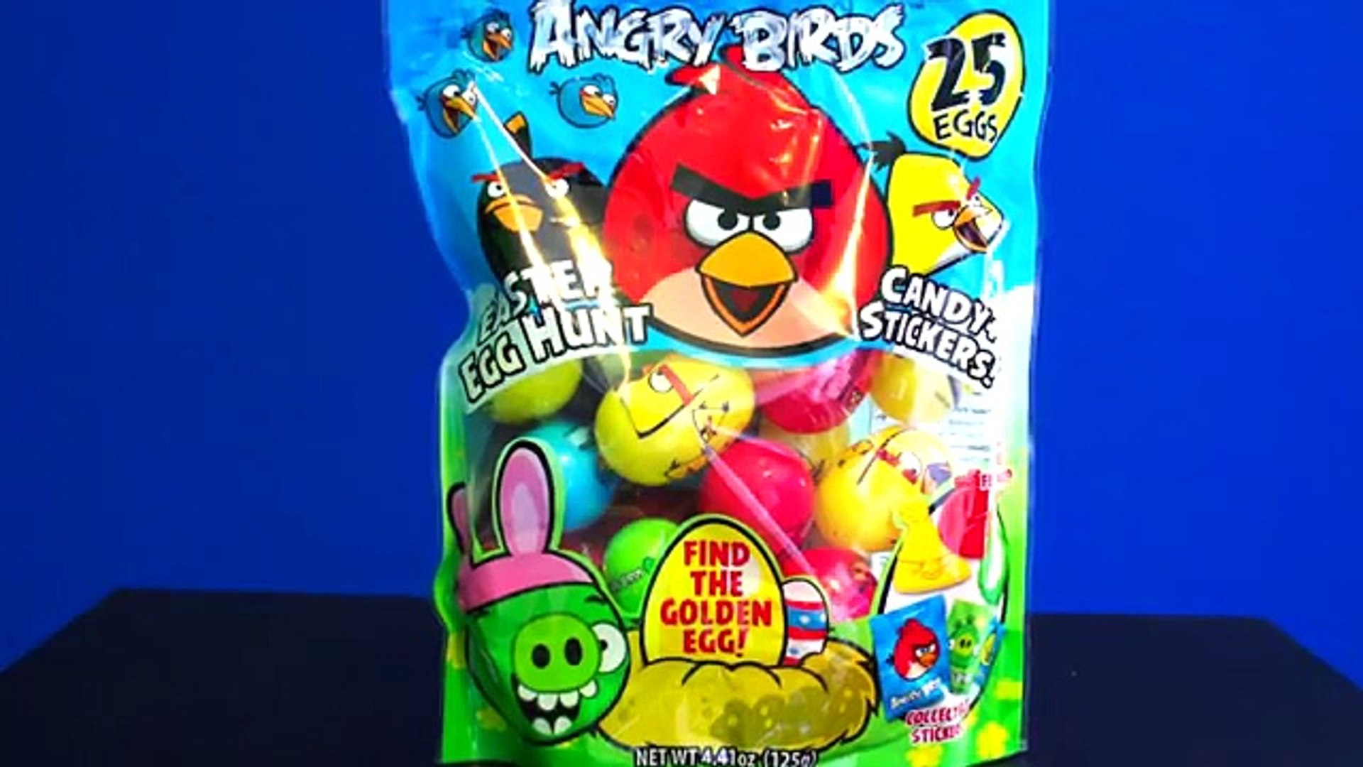 Opening MORE Angry Birds Easter Eggs!!!! - video Dailymotion