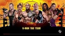 WWE 2K RIVALIES | WWE Survivor Series 2001 | Team WWE vs. Team Alliance (WCW/ECW)