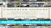 EPUB Download Unsettled Account: The Evolution of Banking in the Industrialized World since 1800
