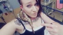 Seekor ular terjebak di lubang telinga wanita - Tomonews