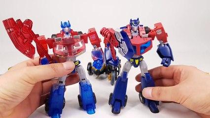 Transformers Animated Optimus Prime Samurai Prowl Jetfire Jetstorm Safeguard Vehicle Robot Car Toys