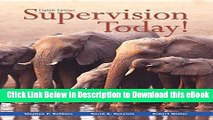 EPUB Download Supervision Today! (8th Edition) Online PDF