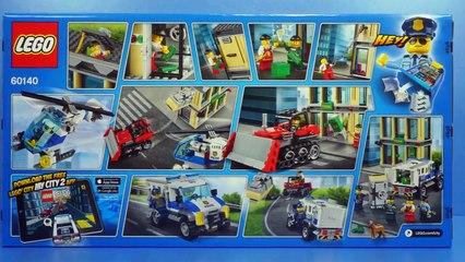 Lego 60140 Bulldozer Break-In Police car Toys Build Review