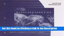 Download Book [PDF] Lecture Notebook for Campbell/Farrell s Biochemistry, 7th Epub Online