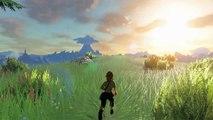 The Legend of Zelda : Breath of the Wild - Trailer Run