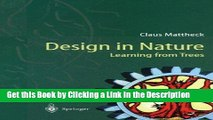 Books Design in Nature: Learning from Trees Free Online