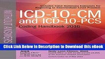 [Read Book] ICD-10-CM and ICD-10-PCS Coding Handbook, without Answers, 2016 Rev. Ed. Mobi
