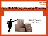 Trustworthy Removal Company In Edinburgh – Van Man Removals