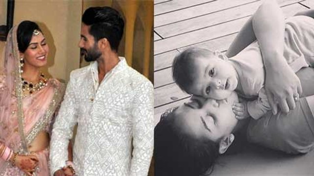 Shahid Kapoor REVEALS Baby Misha's Face Finally! | Baby Misha First Clear Photo REVEALED