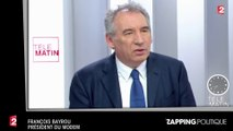 """Zap Politique 08 février : François Bayrou accuse François Fillon d'être """"sous l'influence de puissances d'argent"""" (vidéo)"""