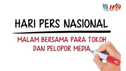 Hari Pers Nasional: Malam Bersama Para Tokoh dan Pelopor Media