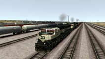Train Simulator 2017 Gameplay BNFS EMD SD70 MAC Locomotive - Return of the Mac - Cajon Pass