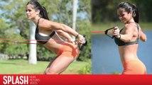 Michelle Lewin muestra su perfecta figura en Miami