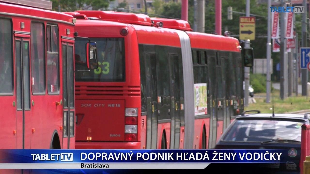 Dopravný podnik Bratislava chce zvýšiť podiel vodičiek