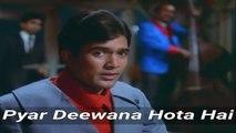 Pyar Deewana Hota Hai Mastana Hota Hai | Kati Patang 1970 | Kishore Kumar | Anand Bakshi | Rajesh Khanna & Asha Parekh |  R.D Burman | HD
