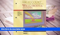 PDF [FREE] DOWNLOAD  High Court Case Summaries on Wills, Trusts, and Estates (Keyed to Dukeminier,