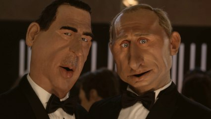Schweppes ad : Vladimir Poutine / Bachar El Assad - The Guignols - CANAL+