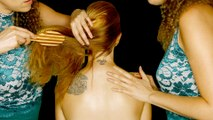 Salon & Spa ASMR Hair Brushing, Scalp Massage & Hair Play – Binaural Ear to Ear Whisper
