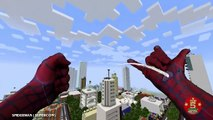 Realistic Minecraft | Top 5 Realistic Minecraft Spiderman |  Realistic Minecraft 1 Hulk