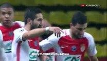 Radamel falcao goal  monaco-1-0 Ac ajaccio-06.01.2017