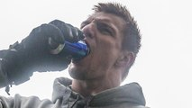 Gronk Makes One-Handed Beer Catch During Patriots Super Bowl Parade, Gets HAMMERED