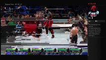 Smackdown 2-7-14 12 Man Tag Konnor Jey Usos Aiden English Vs Chad Gable Fandango Heath Slater