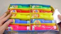 비타민+젤리 몬스터 무지개 액체괴물 만들기!! 흐르는 점토 액괴 클레이 슬라임 장난감 놀이 DIY How To Make Rainbow Slime Toys Kit