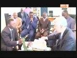 L'ambassadeur de Corée en Côte d'Ivoire en visite de travail à la Radio Télévision Ivoirienne