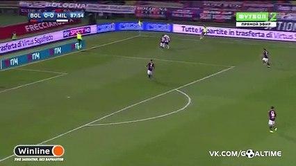 Mario Pasalic Goal HD - Bologna 0-1 AC Milan 08.02.2017 HD