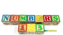 Learn How to Count and Spell Numbers with Playskool Blocks Learning for Kids Toddlers Children ABC