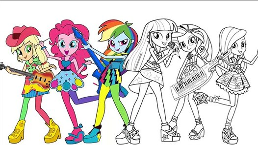 my pony coloring page mlp equestria