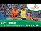 Day 4 | Athletics | Toronto 2015 Parapan American Games